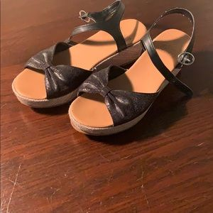 Ugg Wedge Sandals Size 3